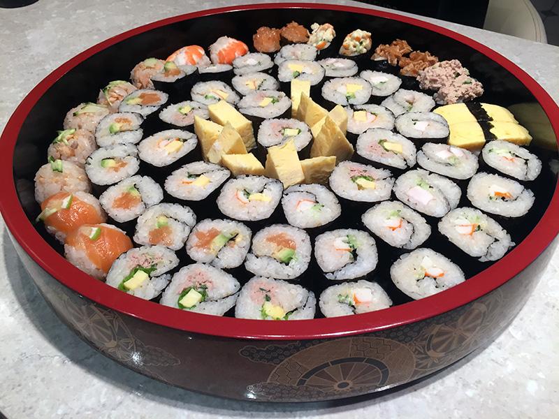 Plateau sushis 6 personnes